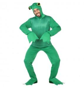 Fato de Sapo verde para homem
