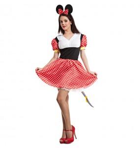 Disfarce original Ratinha Minnie Mouse mulher ao melhor preço