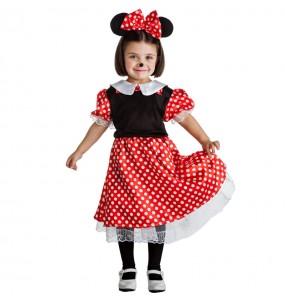 Disfarce Ratinha Minnie Mouse menina para que eles sejam com quem sempre sonharam
