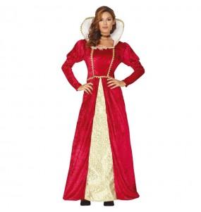 Disfarce original Rainha do Renascimento mulher ao melhor preço