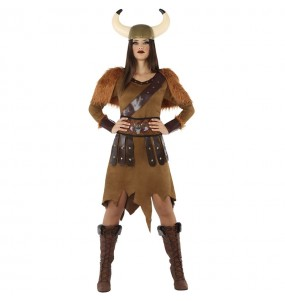 Disfarce original Rainha Viking mulher ao melhor preço