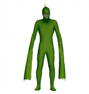 Fato de Réptil mutante adulto para a noite de Halloween