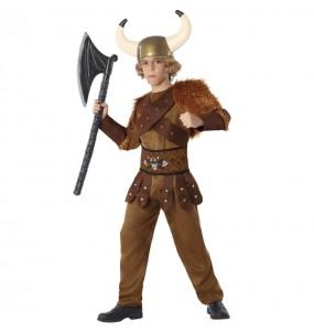 Disfarce Rei Viking menino para deixar voar a sua imaginação