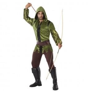 Disfarce Arqueiro Robin Hood adulto divertidíssimo para qualquer ocasião