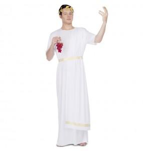 Disfarce Romano branco adulto divertidíssimo para qualquer ocasião