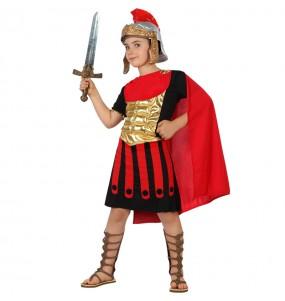 Disfarce Guerreiro Romano Dourado menino para deixar voar a sua imaginação