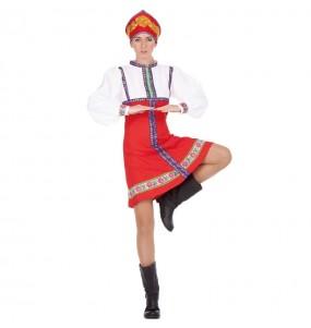 Disfarce original Russa clássica mulher ao melhor preço
