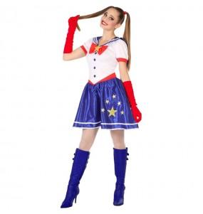 Disfarce original Sailor Moon mulher mulher ao melhor preço