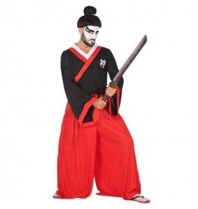 Disfarce Samurai adulto divertidíssimo para qualquer ocasião