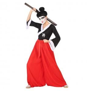 Disfarce original Samurai mulher ao melhor preço
