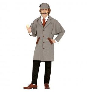 Fato de Sherlock Holmes para homem