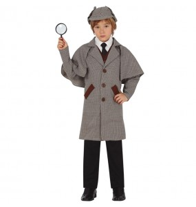 Fato de Sherlock Holmes para menino