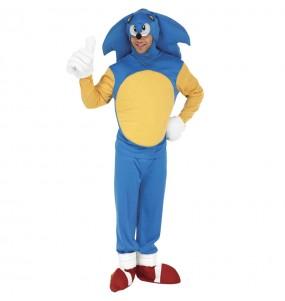 Fato Sonic the Hedgehog para homem
