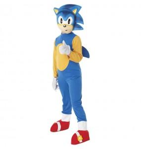 Fato Sonic the Hedgehog para menino