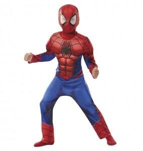 Fato de Spiderman Deluxe para menino