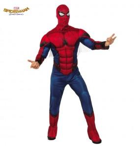 Disfarce Spiderman Homecoming adulto divertidíssimo para qualquer ocasião
