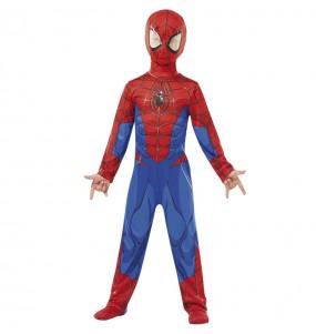 Fato de Spiderman marvel para menino