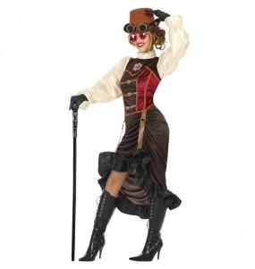 Disfarce original Steampunk Vitoriana mulher ao melhor preço