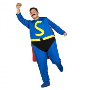 Disfarce Superlópez adulto divertidíssimo para qualquer ocasião