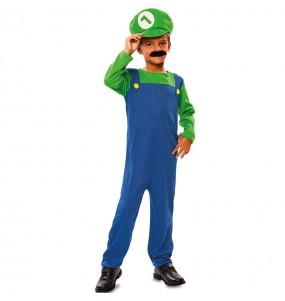 Disfarce Encanador Luigi menino para deixar voar a sua imaginação