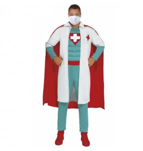 Fato de Super Médico para homem