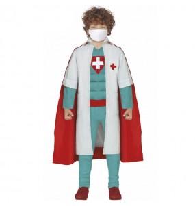 Fato de Super Médico para menino