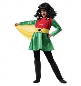 Disfarce Robin menina para que eles sejam com quem sempre sonharam