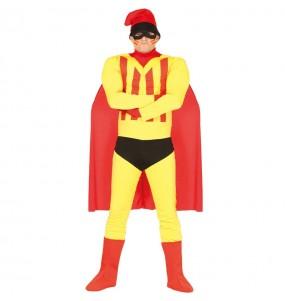 Disfarce Supercat Herói Catalão adulto divertidíssimo para qualquer ocasião