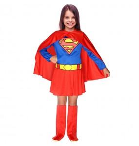 Fato de Supergirl Classic para menina