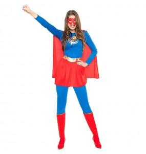 Disfarce original Super Heroína Relâmpago mulher ao melhor preço