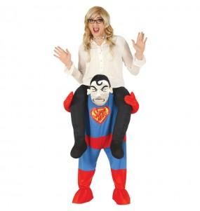 Disfarce Ride On Super Herói adulto divertidíssimo para qualquer ocasião