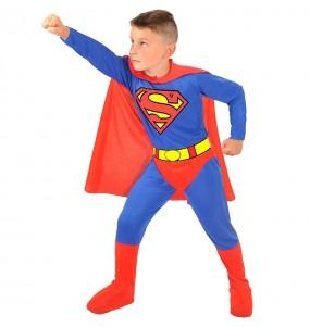 Fato de Superman Classic para menino