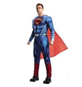Disfarce Superman Dawn of Justice – DC Comics® adulto divertidíssimo para qualquer ocasião