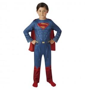 Disfarce Superman Justice League menino para deixar voar a sua imagina??o