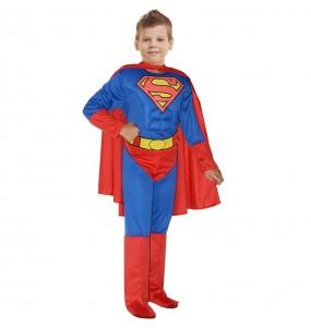 Fato de Superman musculoso Classic para menino