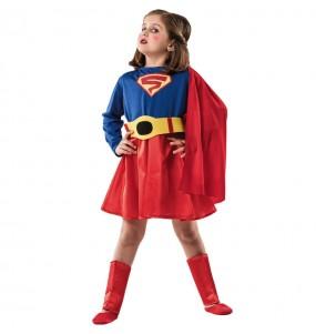 Disfarce Super Heroína Clássica menina para que eles sejam com quem sempre sonharam
