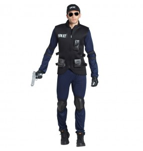 Disfarce Polícia SWAT adulto divertidíssimo para qualquer ocasião