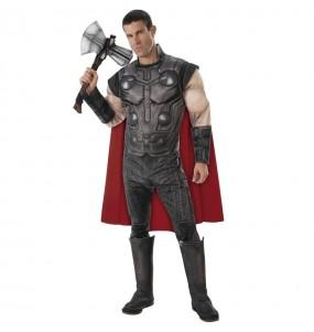 Disfarce Thor Os Vingadores adulto divertidíssimo para qualquer ocasião