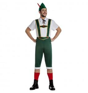 Fato de Tirolês alemão para homem