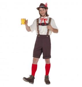 Disfarce Tirolês Oktoberfest adulto divertidíssimo para qualquer ocasião