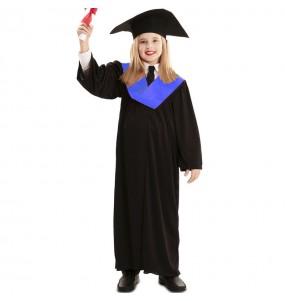 Fato de Toga de Graduação para menina