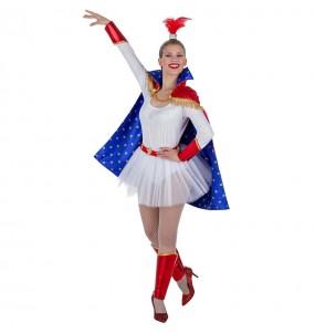Disfarce original Trapezista de Circo mulher ao melhor preço