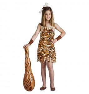 Fato de Troglodita selvagem para menina