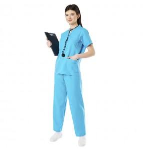 Fato de Uniforme de doutor para mulher