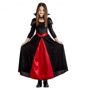 Fato de Vampiresa nocturna para menina