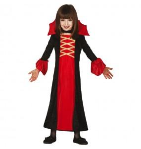 Fato de Vampiresa Royal para menina