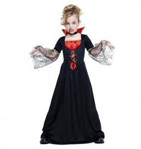 Fato de Vampiresa sinistra para menina