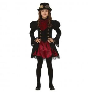 Fato de Vampiresa Steampunk para menina