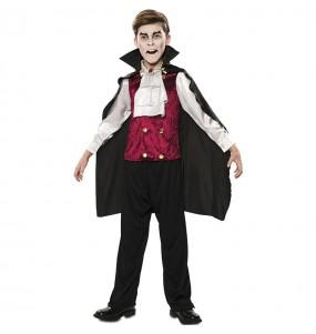 Fato de Vampiro elegante para menino
