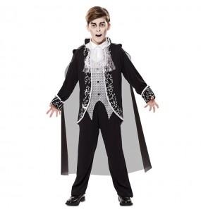 Fato de Vampiro Royal para menino